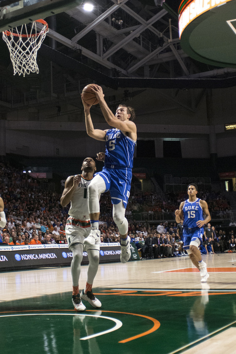 Duke Miami Basketball