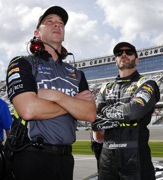 NASCAR-Johnson-New Crew Chief Auto Racing