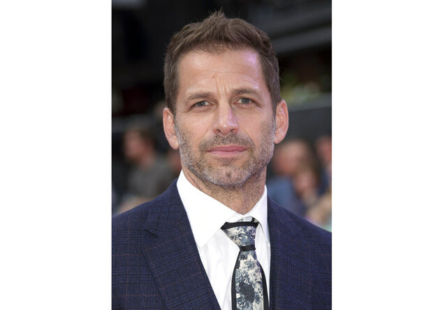 FILE - This Aug. 3, 2016 file photo shows director Zack Snyder at the premiere of