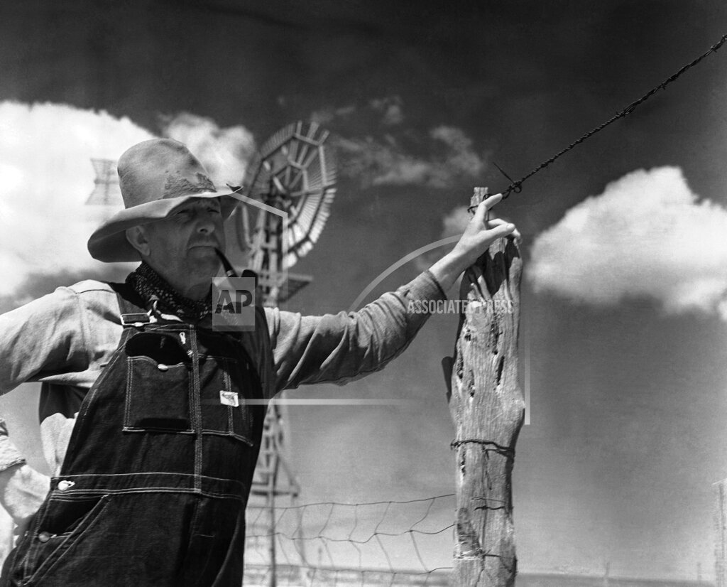 Watchf Associated Press Domestic News  Oklahoma United States APHS141569 The Dust Bowl Oklahoma 1938