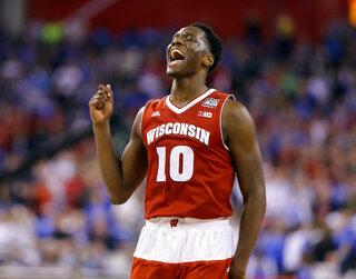 NCAA Kentucky Wisconsin Final Four Basketball