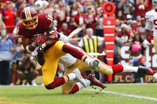49ers Redskins Football