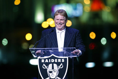 Raiders Move Vegas Stadium Football