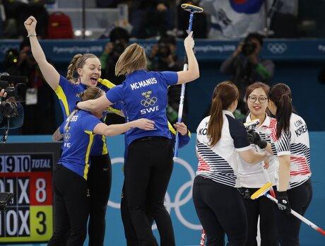 APTOPIX Pyeongchang Olympics Curling Women