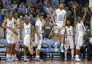 NCAA Lipscomb North Carolina Basketball