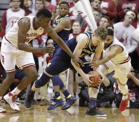 Michigan Indiana Basketball