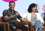 Brian Austin Green, left, and Shannen Doherty participate in Fox's
