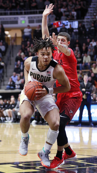 Fairfield Purdue Basketball