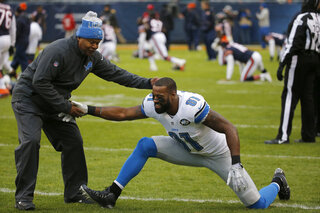Jim Caldwell, Calvin Johnson