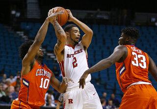 Clemson Rutgers Basketball
