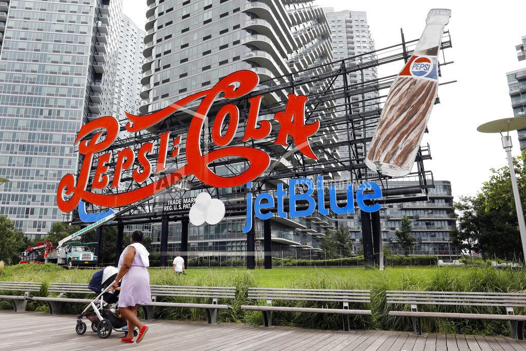 Pepsi Sign JetBlue