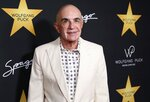 FILE - in this April 26, 2017, file photo, Robert Shapiro arrives at Wolfgang Puck's Post-Hollywood Walk of Fame Star Ceremony Celebration at Spago in Beverly Hills, Calif. Shapiro, the first member of Simpson's defense team, continues to practice law. In 2005 he founded the Brent Shapiro Foundation to help steer young people from drug and alcohol addiction after his 24-year-old son died of an overdose. (Photo by Willy Sanjuan/Invision/AP, File)