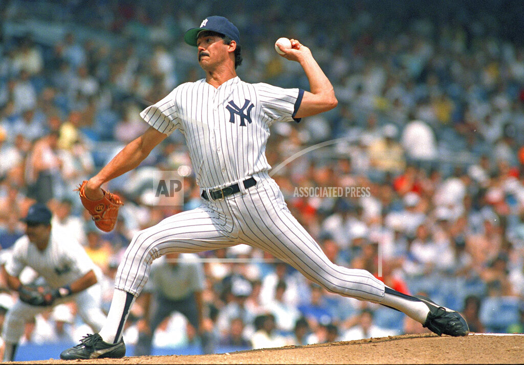Watchf AP S  NY USA APHS444684 Ron Guidry