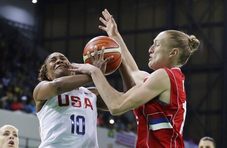 Danille Page, Tamika Catchings