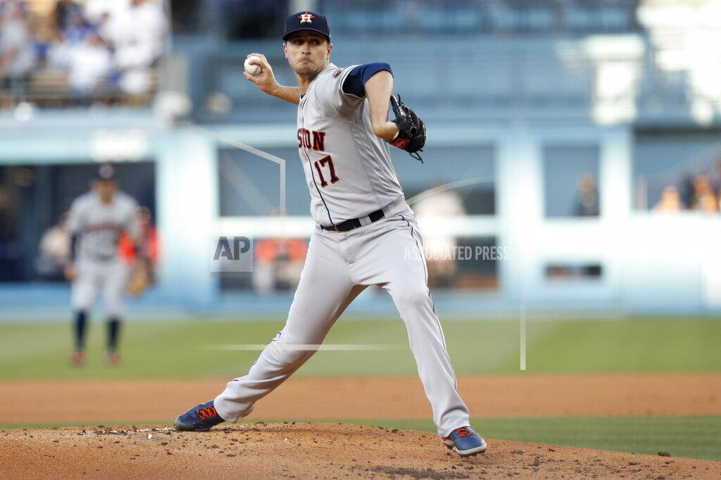 Astros Dodgers Baseball