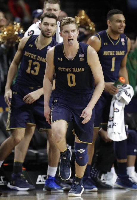ACC Virginia Tech Notre Dame Basketball