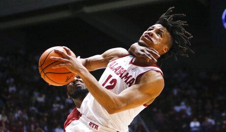 APTOPIX Arkansas Alabama Basketball