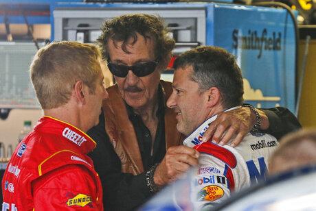 Tony Stewart, Richard Petty, Greg Biffle
