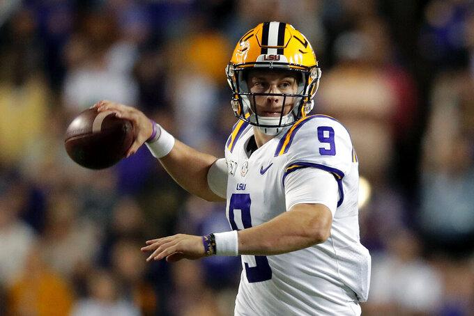 No. 2 LSU, No. 9 Auburn renew high-drama, high-stakes rival