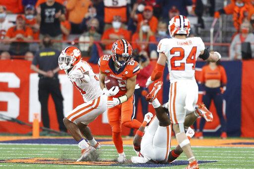 Clemson Syracuse Football