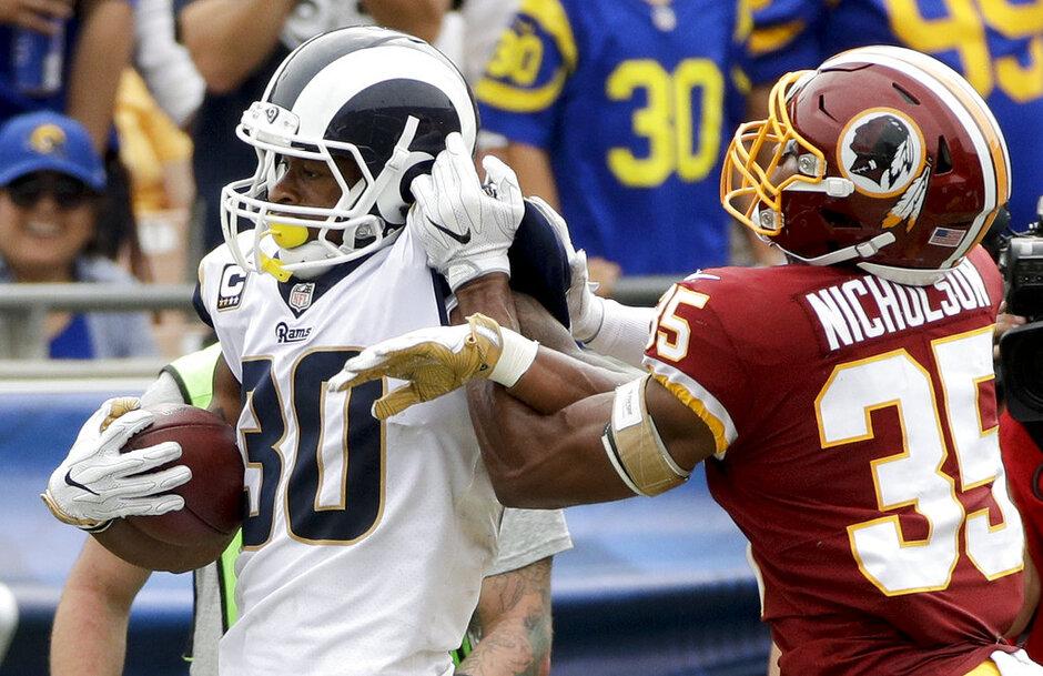 Redskins Rams Football