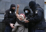 Police detain an activist from Ukrainian female rights organization