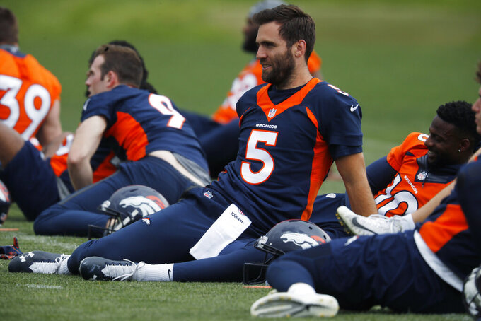 Broncos' Joe Flacco shows he still has the arm strength