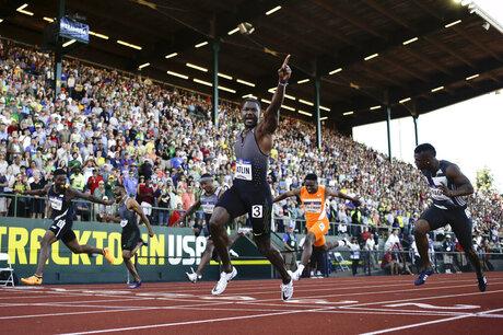 Rio Olympics Gatlin Doping Athletics