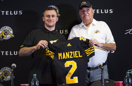 Manziel CFL Football