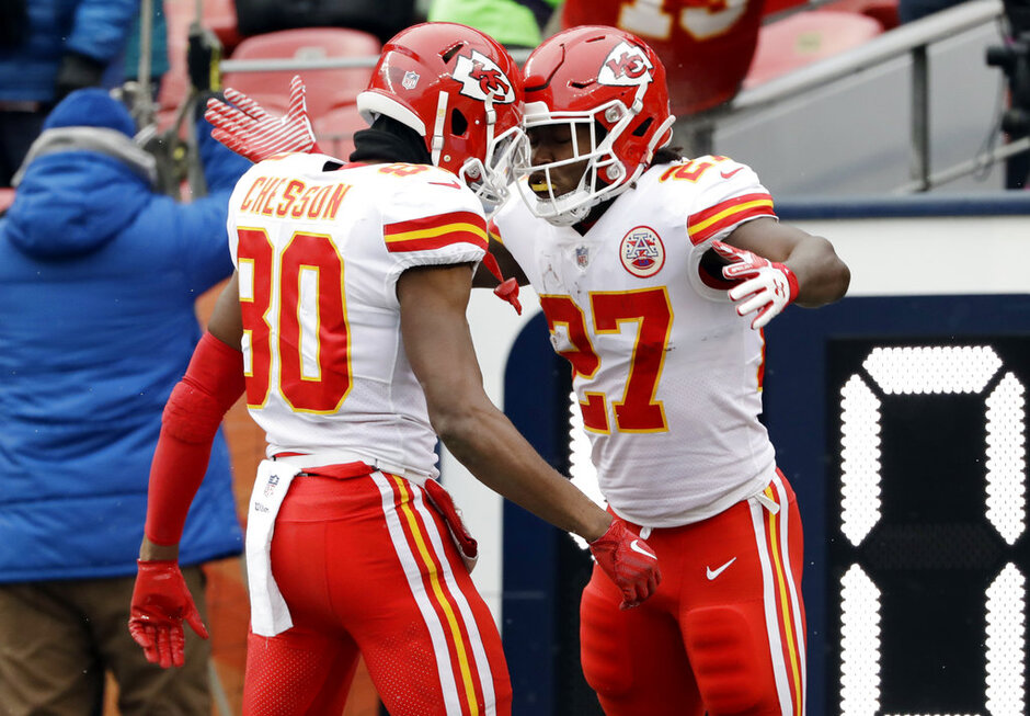 Kareem Hunt, Jehu Chesson