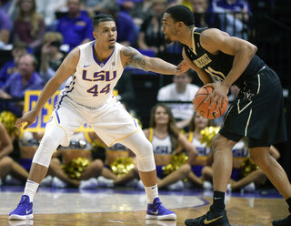 LSU Player Killed basketball