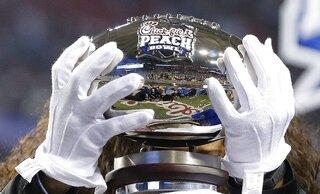 Playoff Peach Bowl Football