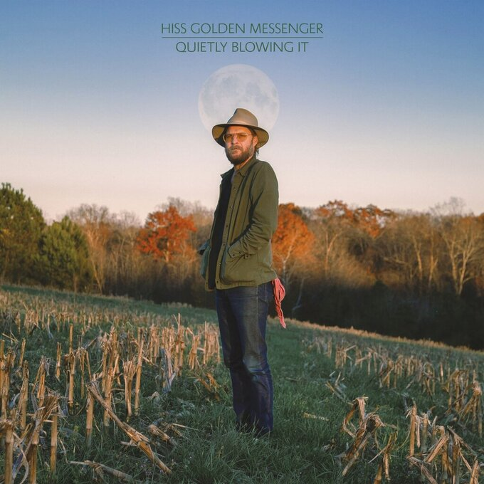 """This cover image released by Merge Records shows """"Quietly Blowing It"""" by Hiss Golden Messenger. (Merge via AP)"""