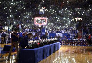 Texas Kansas Basketball