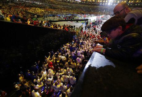 APTOPIX Rio Olympics Closing Ceremony