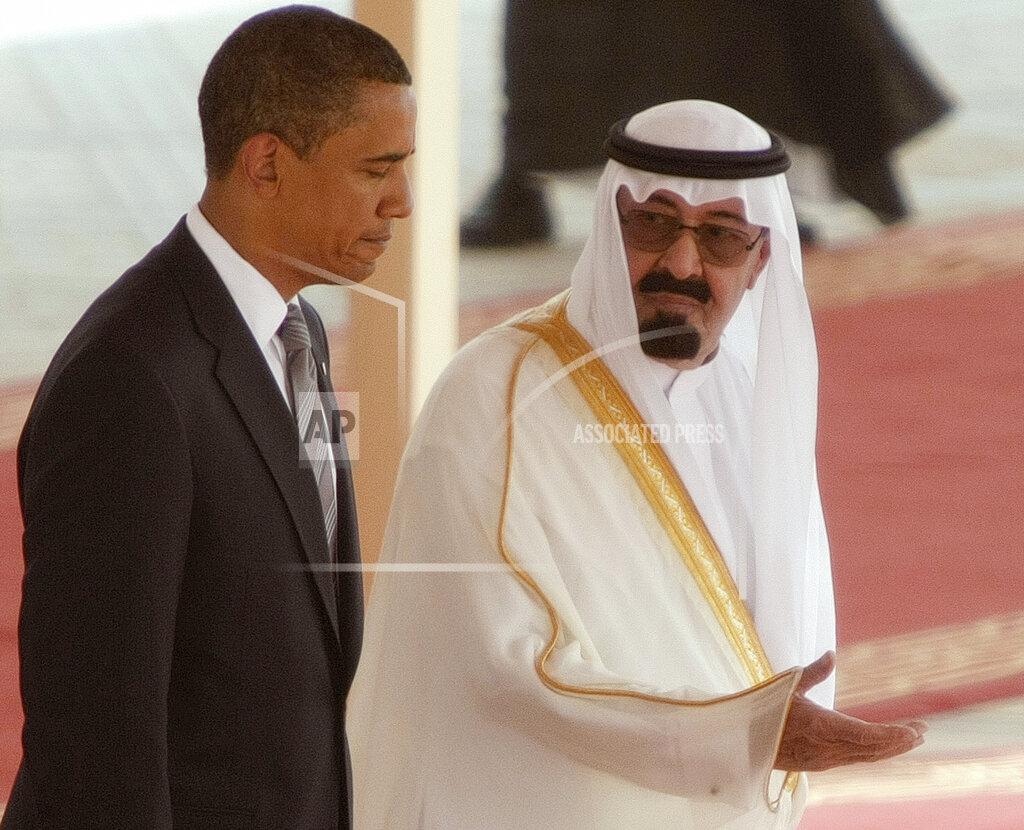 Saudi Arabia US Obama