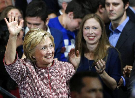 Hillary Clinto, Chelsea Clinton, Mark Mezvinsky