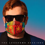 """This album cover provided by Interscope Records shows """"The Lockdown Sessions"""" by Elton John. John is releasing an album of collaborations with artists from several generations and genres, including Nicki Minaj, Young Thug, Miley Cyrus, Lil Nas X, Stevie Nicks and Stevie Wonder. """"The Lockdown Sessions,"""" a collection of 16 songs featuring John with artists from Dua Lipa to the late Glen Campbell, will be released on Oct. 22.  (Interscope Records via AP)"""