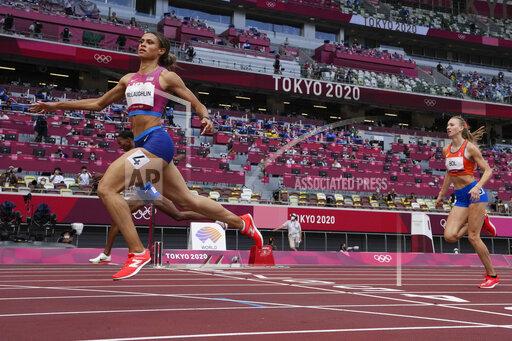 APTOPIX Tokyo Olympics Athletics