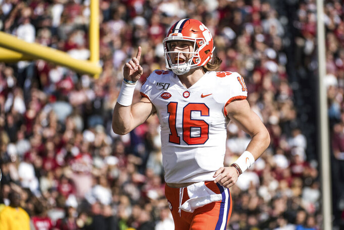 Clemson, Virginia ACC title game features bevy of playmakers