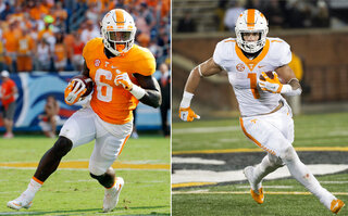 Tennessee Running Back Duo Football