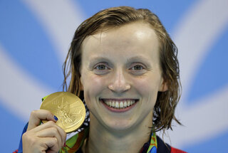 Ledecky Turning Pro Swimming