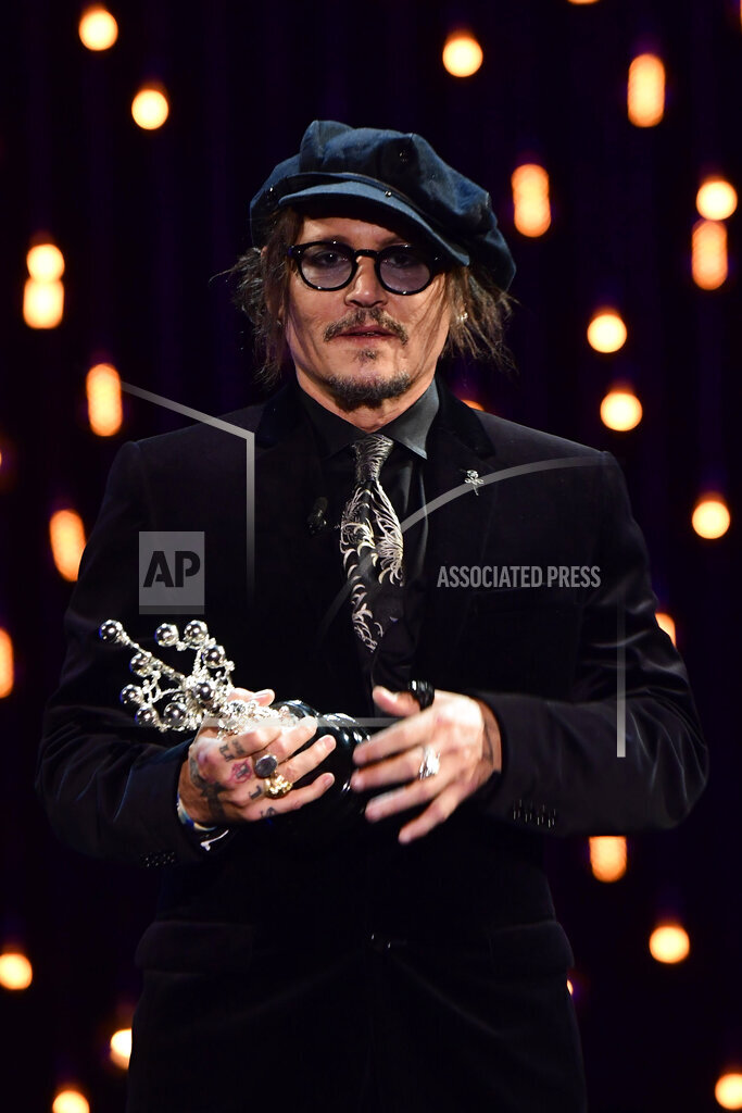 Donostia Award Presentation During 69th San Sebastian International Film Festival