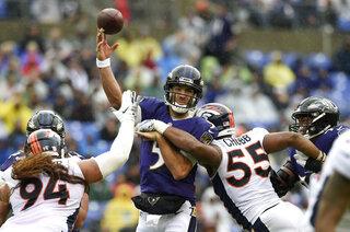 Broncos Ravens Football