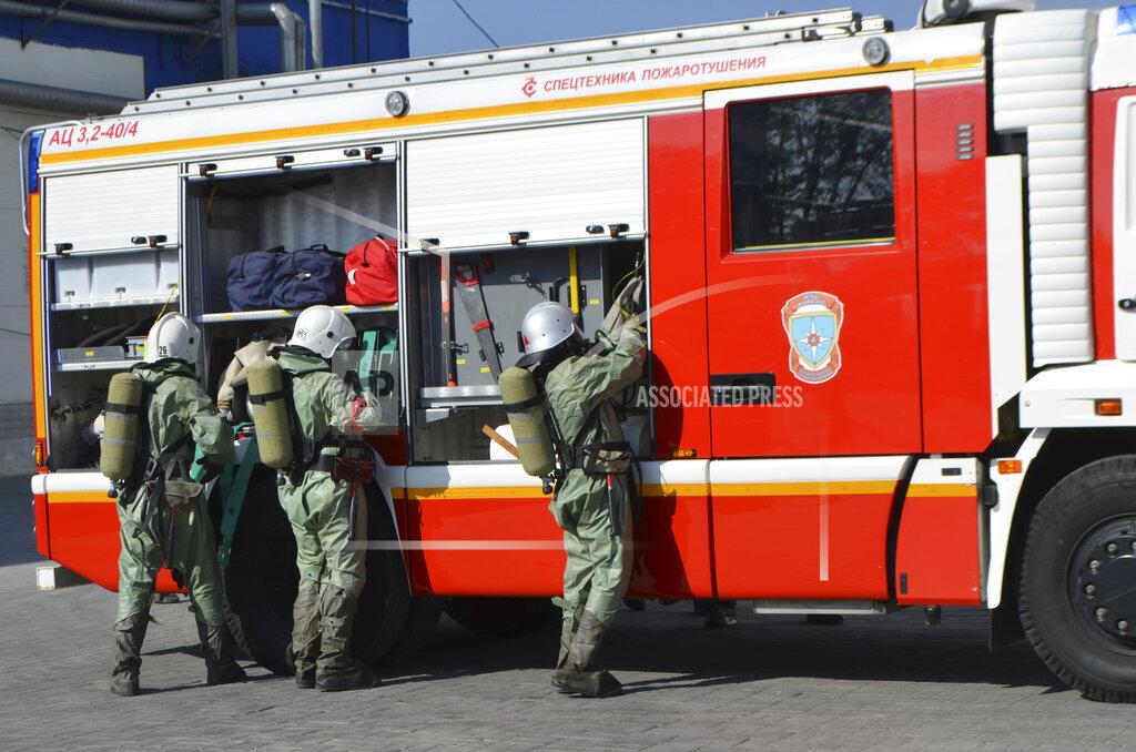 Russia Emergency Drills