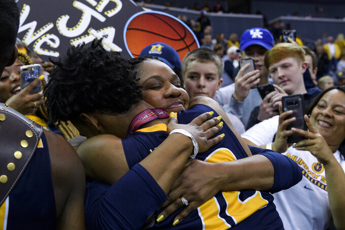 Murray State beats Belmont in OVC for NCAA Tournament spot
