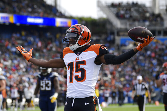 Cincinnati Bengals at Los Angeles Chargers 12/9/2018