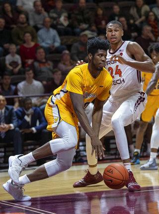 NC A T Virginia Tech Basketball