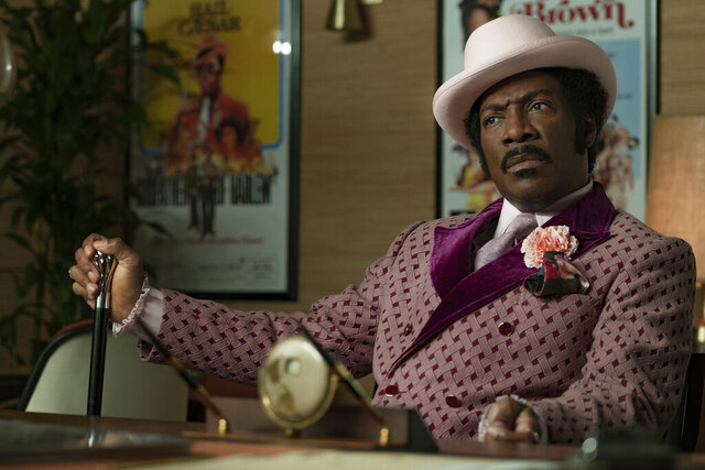 This image released by Netflix shows Eddie Murphy in a scene from