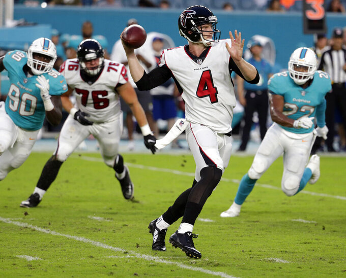 Atlanta Falcons at Miami Dolphins 8/10/2017